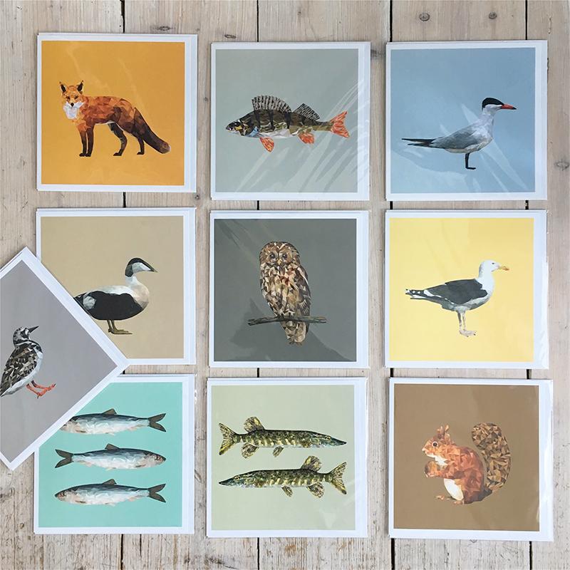 Kort & anteckningsböcker   Cards & note books